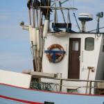 Fiskerbåd ved Slettestrand